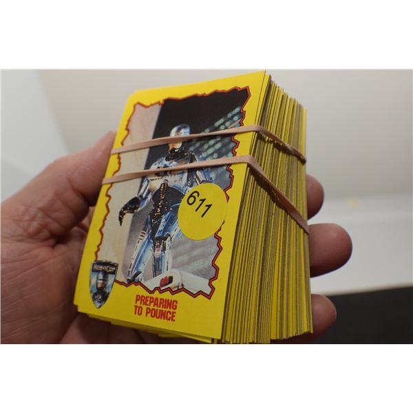 1990 Robocop trading cards