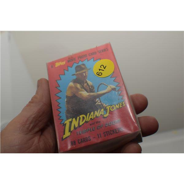 Full set 1984 Indiana Jones trading cards