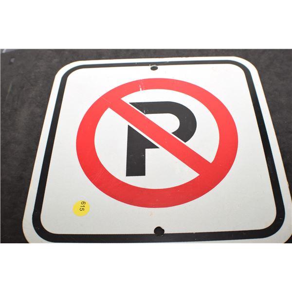 No Parking Metal skin sleeves