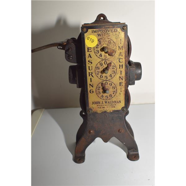 Antique Store Wire counter gauge
