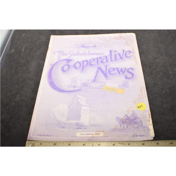 1924 Co-operative News - Regina