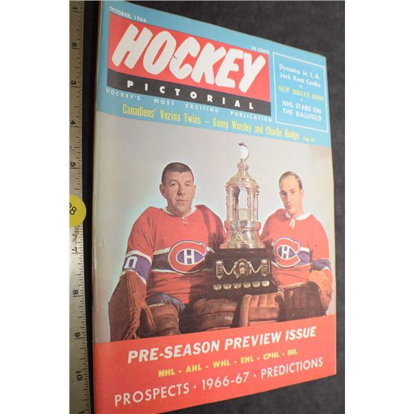 1966 Hockey Pictorial
