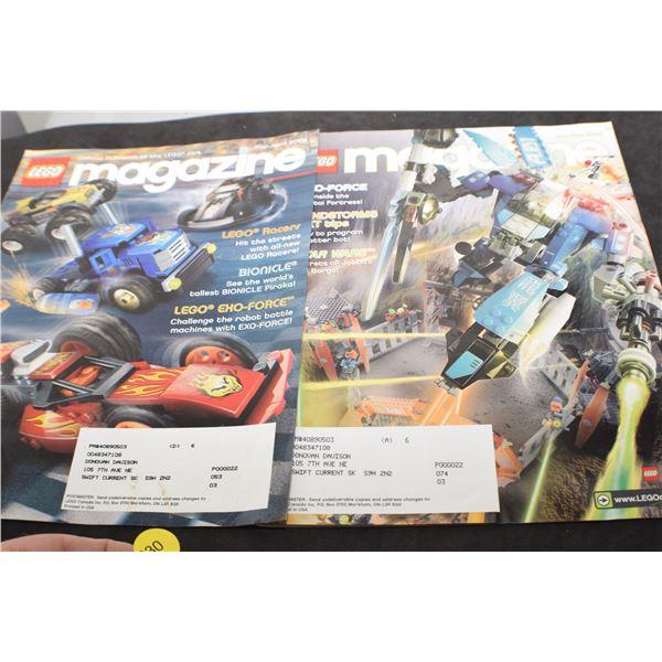 Lego magazine