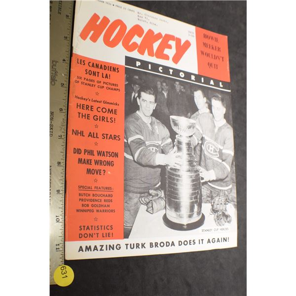 1956 Hockey Pictorial