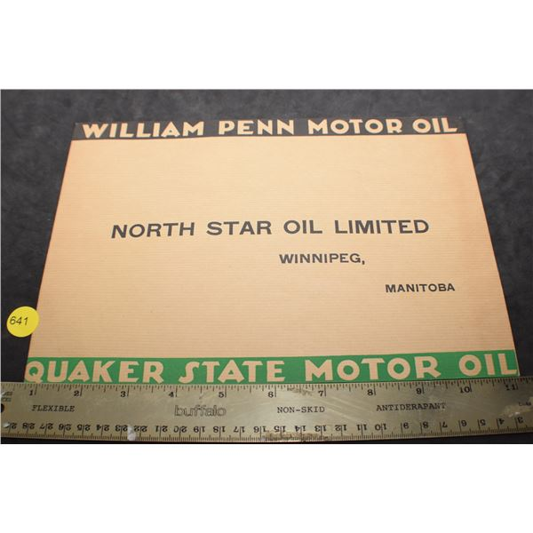 North Star Oil envelope