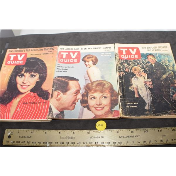 1960's TV guides