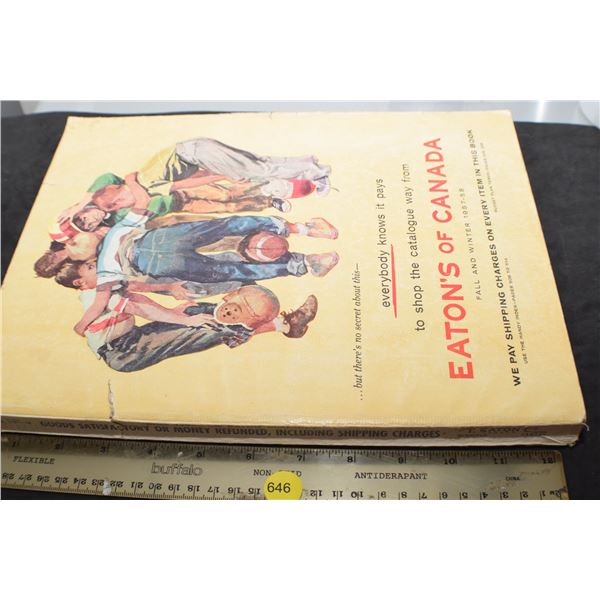 1957 Eaton's catalog 600 pages