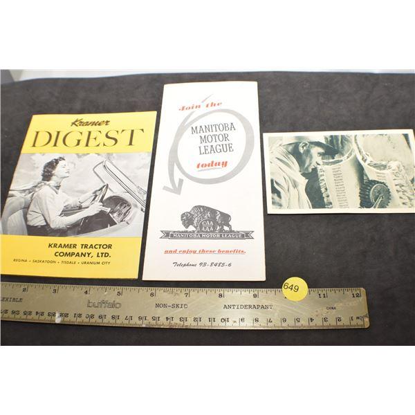 1959 Kramer Digest etc