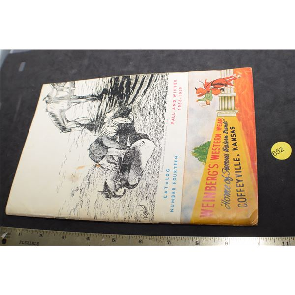 1959 Western Catalog
