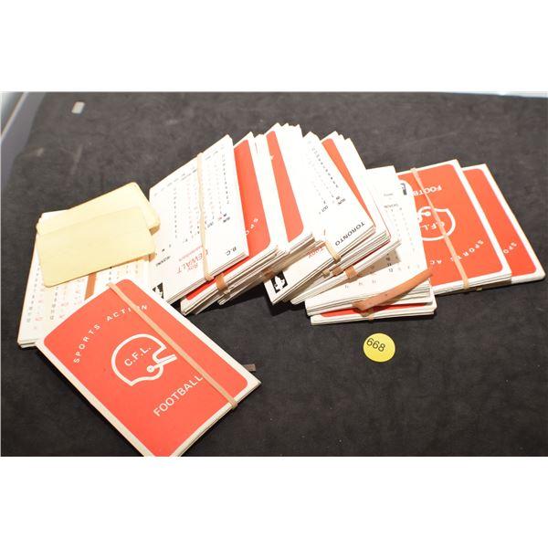 Huge stack CFL game cards