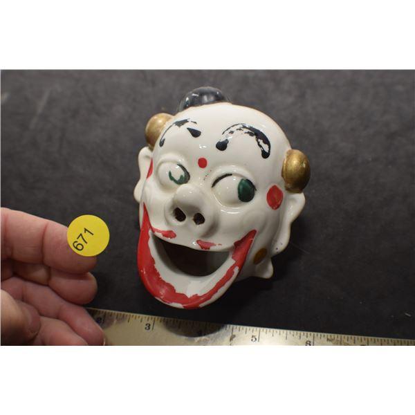 Clown Ashtray