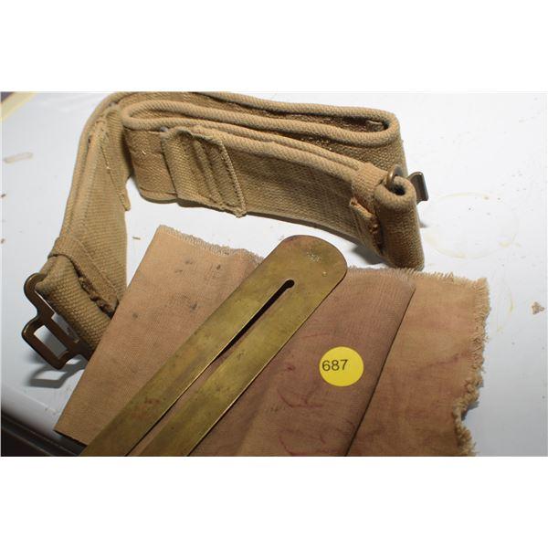 WW I Belt Buckle & Button Polisher
