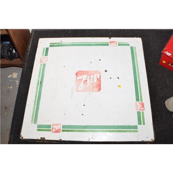 7-up porcelain table top