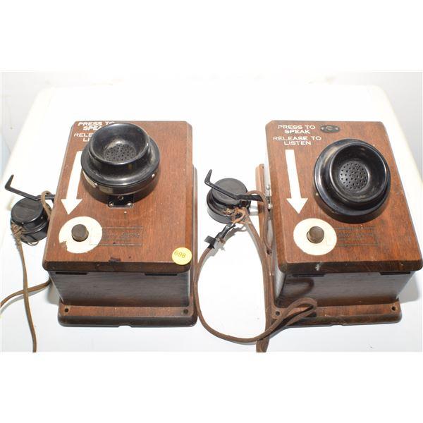 Antique CNR Railway telephones