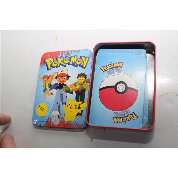 Pokemon game cards 1999