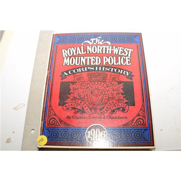 Royal Northwest Mounted Police book