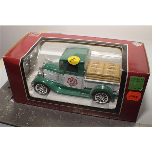 Vintage Co-op NOS Van/bank