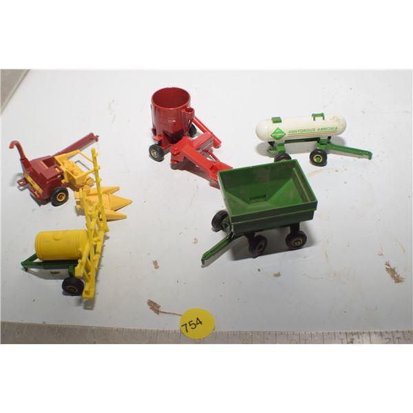 Vintage Farm Implement toy lot