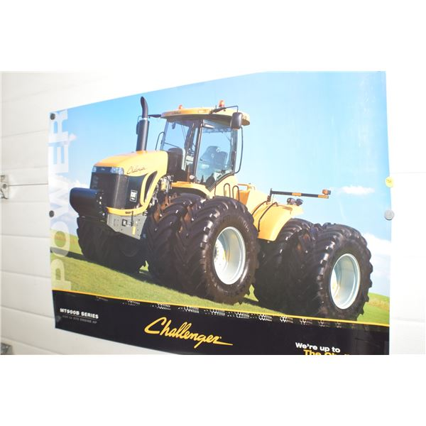 Vintage CAT tractor poster