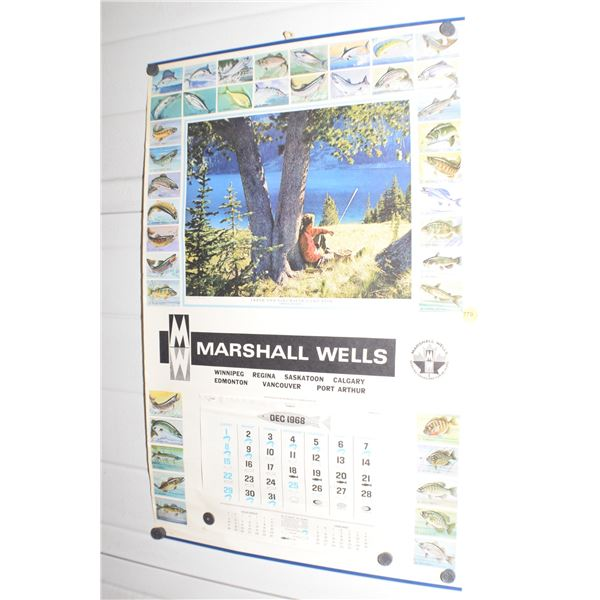 1968 Marshall Wells calendar