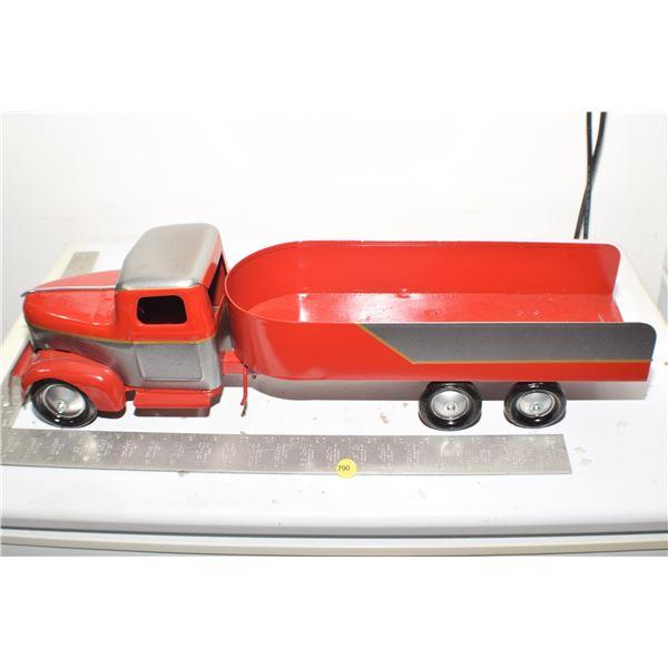 Toy Steel Antique Turner Truck (restored)