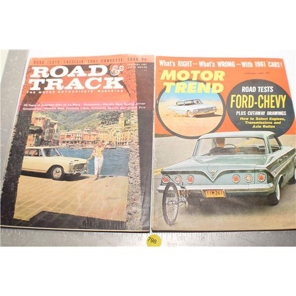 1961 Auto magazines