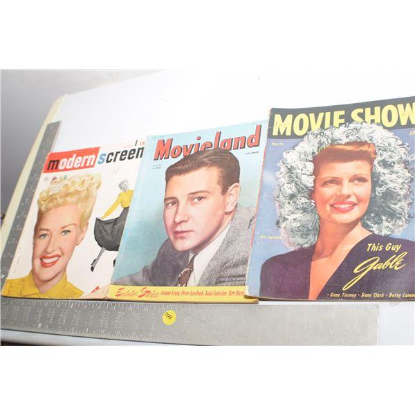 1940's Movie magazines