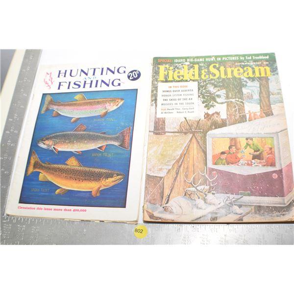 1933 Hunting & Fishing etc