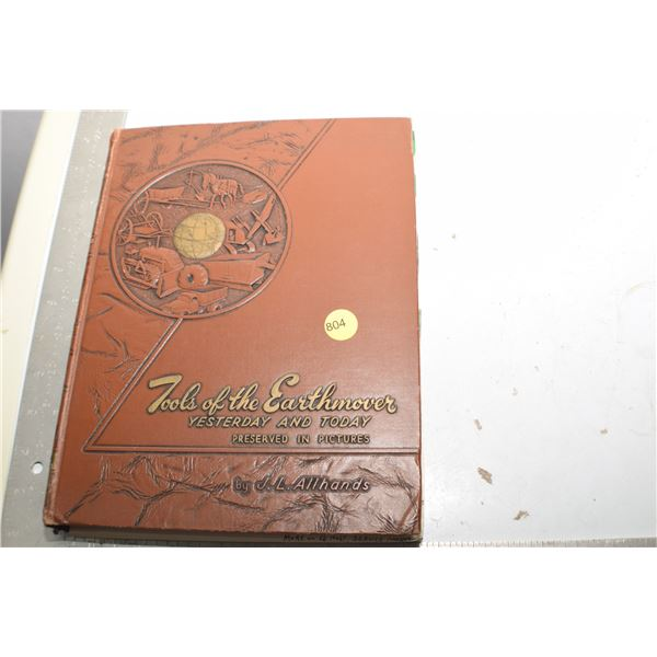 Antique Earth Mover/Construction equipment book