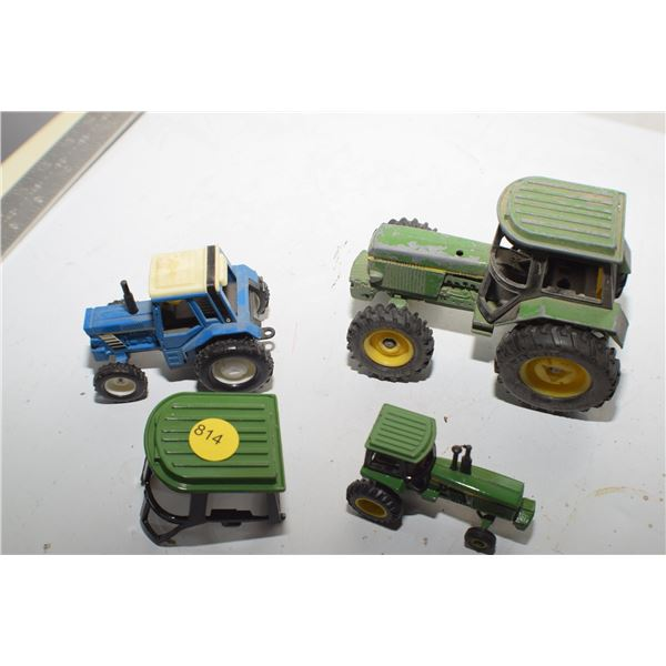 Vintage toy Tractor lot
