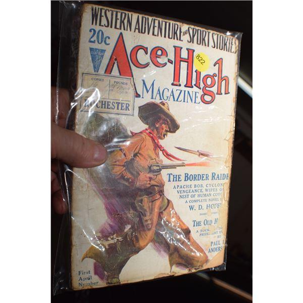 1927 Western Pulp fiction magazine
