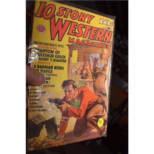 1938 Western Pulp fiction magazine
