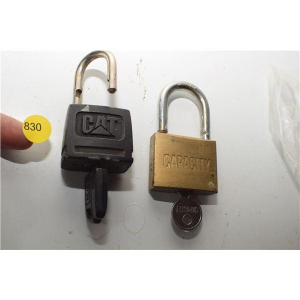 CAT lock & key, etc
