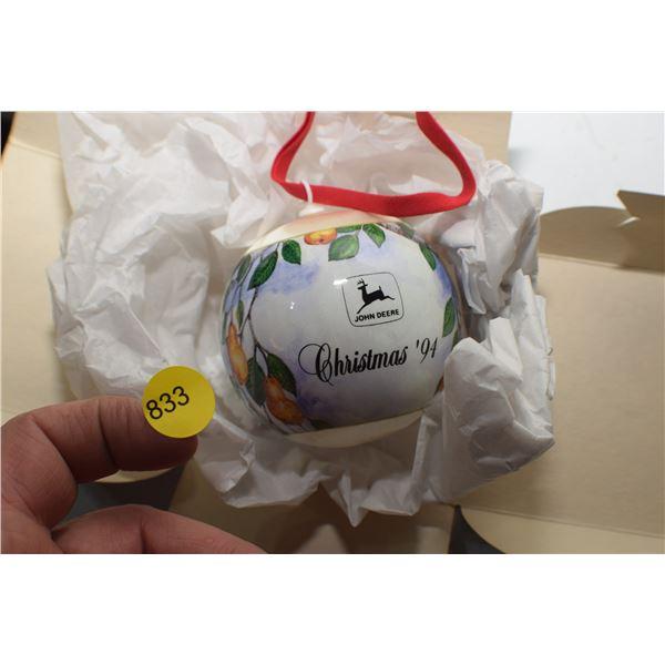 1994 John Deere Christmas bulb