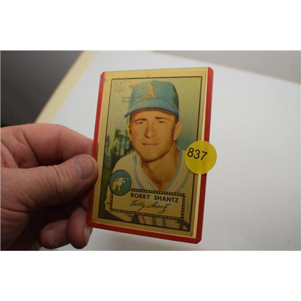1950's ? Baseball card