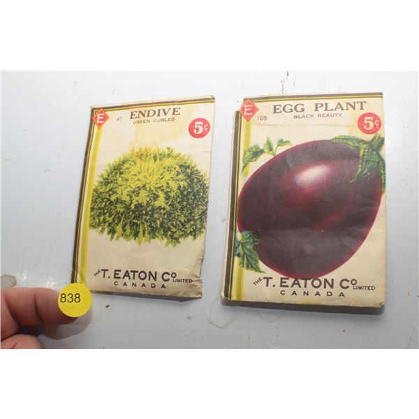 Antique Eaton's Seeds