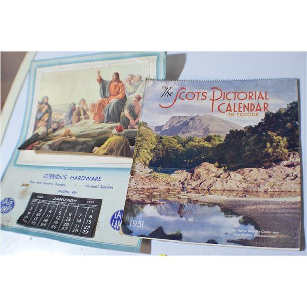 Antique Calendars