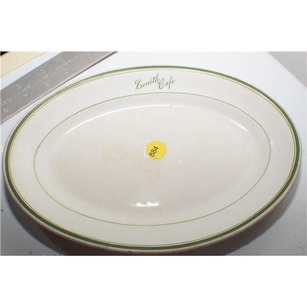 Saskatoon Zenith Café Plate