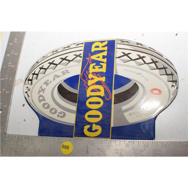 Porcelain Sign fantasy - Goodyear Tire