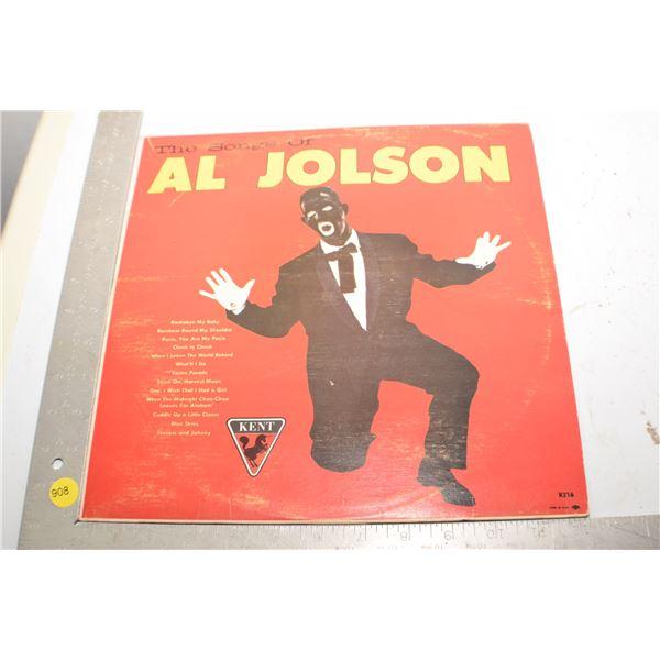 Al Jolson records