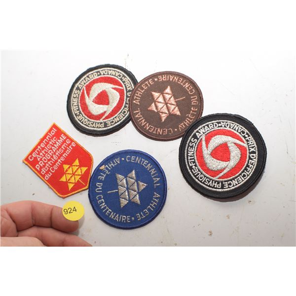 1967 Canada Athletic Patches