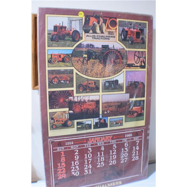 1984 Allis Chalmers poster