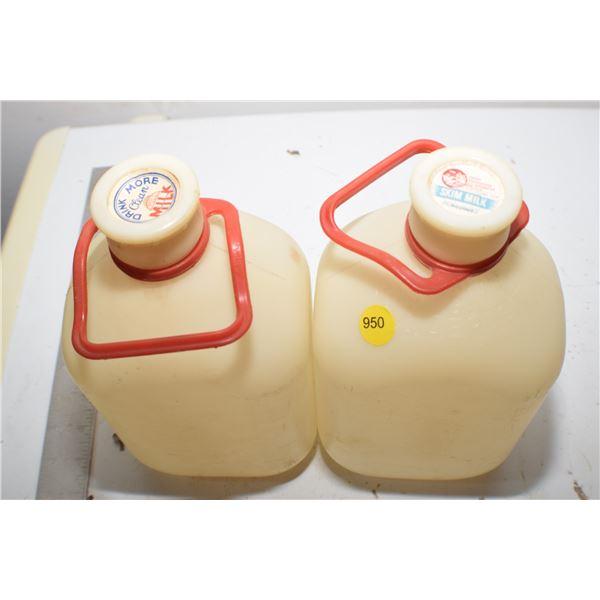 1964 Milk Jugs