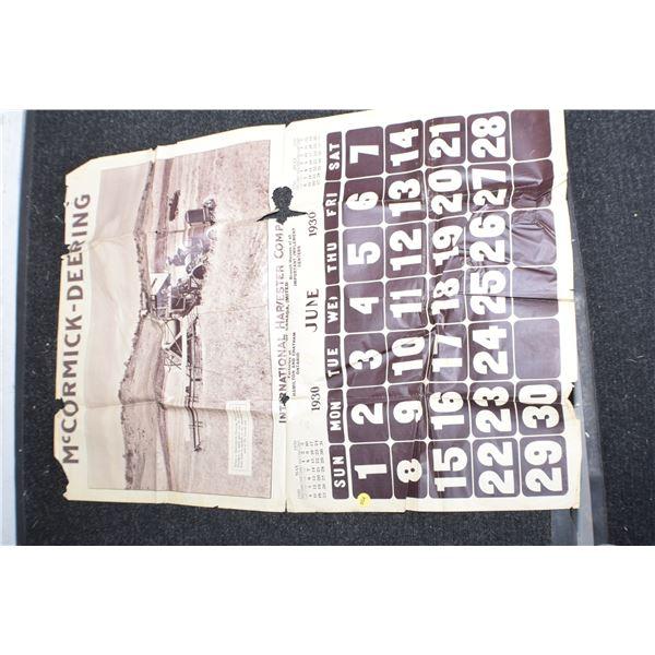 1930 IHC calendar (poor)