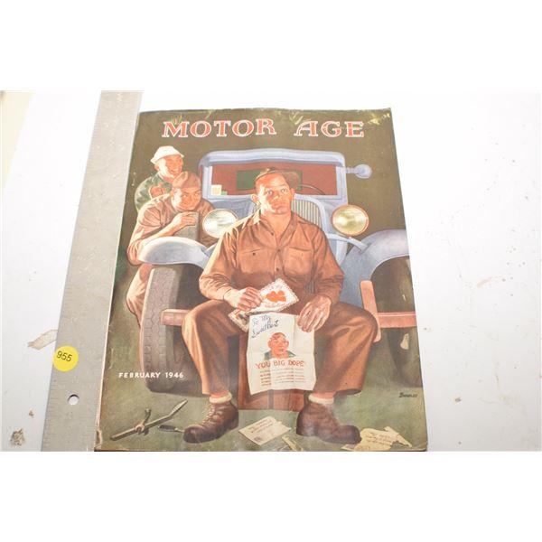 1946 Motor Age magazine