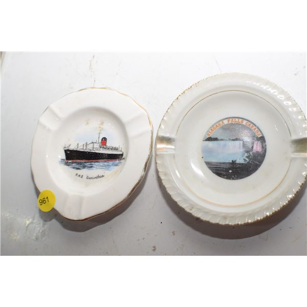 RMS Carinthia Ashtray etc