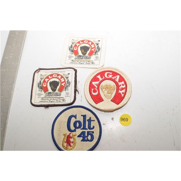 Calgary Beer patches