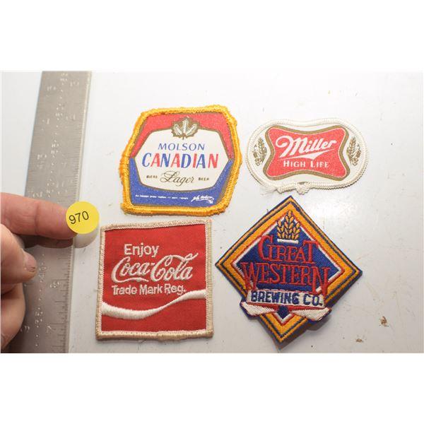 Beer & Coca Cola patches