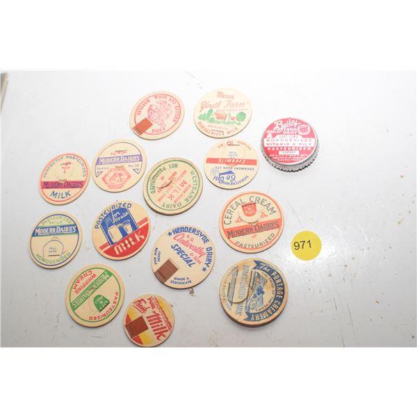 Vintage Dairy Tabs