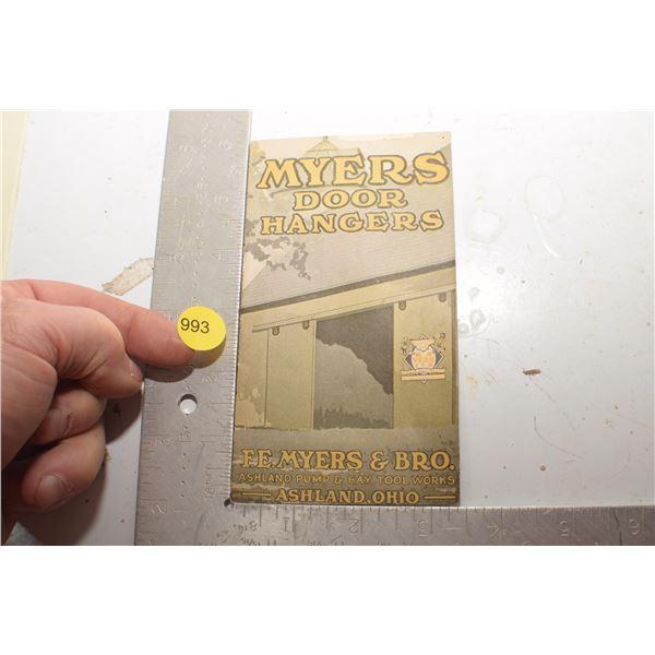 Antique Meyers Door hangers